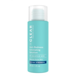 CLEAR Extra Strength Anti-Redness Exfoliating Solution 2% Salycilic Acid