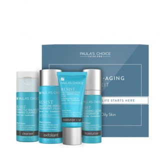 Resist Anti-Aging Trial Kit - Combination to Oily skin